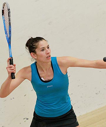 RAPID RISE: Joelle King has jumped seven places in the world squash rankings this year to be ranked No 5.
