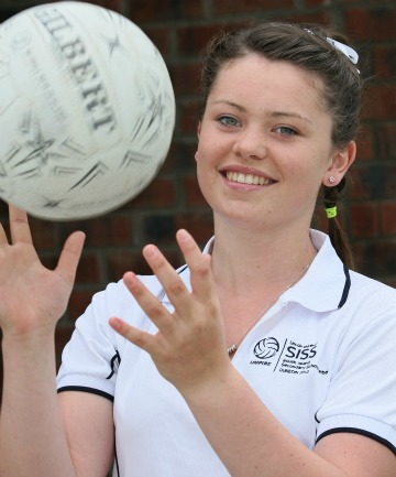 Southland Girls' High School's Georgina Bell wants to continue Southland's fine tradition of producing elite-level netball umpires.