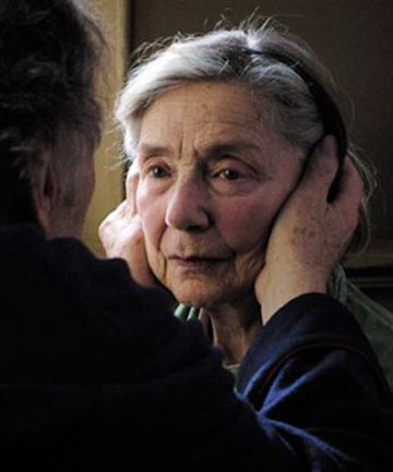 Michael Haneke's Amour - If cinema has ever produced a more direct and honest reflection on mortality I am unaware of it.
