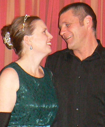 'WHAT PRICE A LIFE?': Glen and Lorrin Lyons.