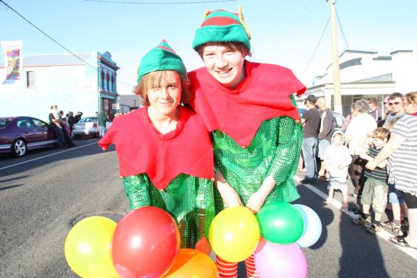 Riverton Santa Parade 2012