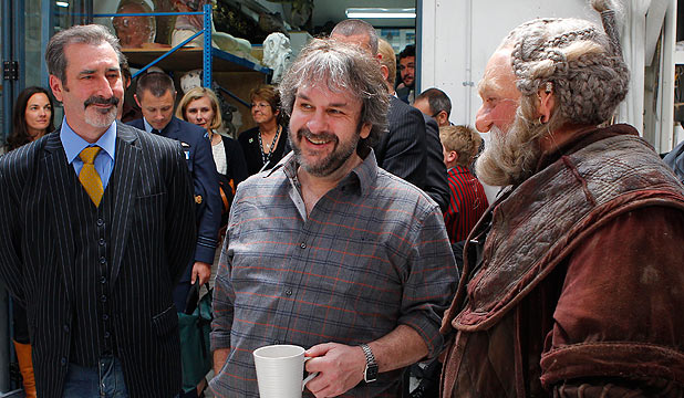 William Kircher, Peter Jackson and Mark Hadlow