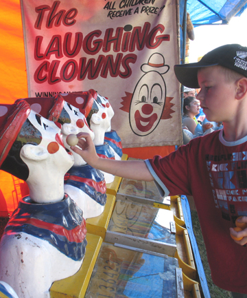 laughing clowns