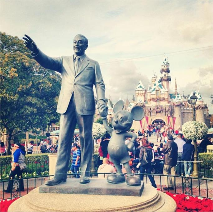 Happiest place on earth. Disneyland Park