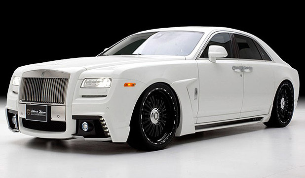 A customised Rolls Royce.