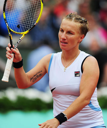 ON COURT: Two-time Grand Slam winner and current world No 71 Svetlana Kuznetsova will be in action on day one of the ASB Classic.