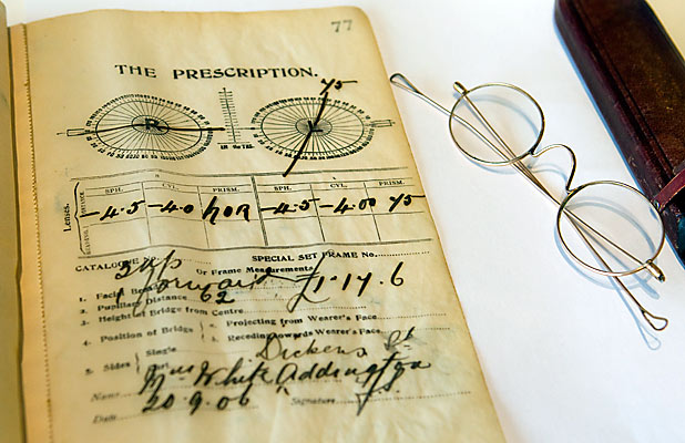 1906 prescription book