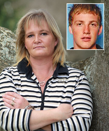 Tina Nilson's son Shaun, inset, died in 2011, when the car he was a passenger in crashed in Hamilton's Heaphy Tce