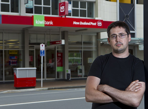 POSTAL PROBLEMS: Lido Cinema manager Stewart Putwain hopes community voices will stop plans to close the only NZ Post service shop in Hamilton's central business district.