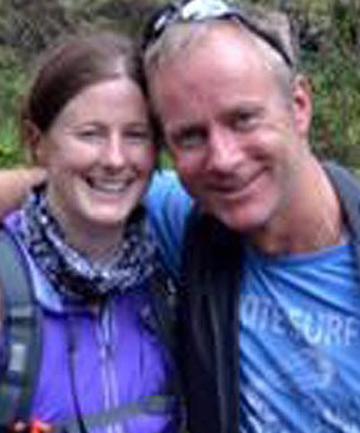 TERRIBLE END: Ian McKeever, right, and Anna O'Loughlin planned to marry in September.