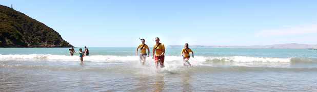 Lifeguards at Whites Bay