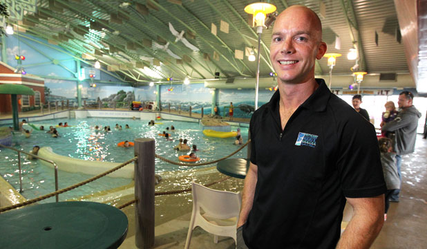 Splash Palace manager Pete Thompson