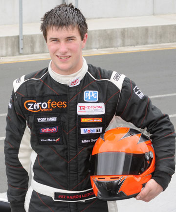 Damon Leitch is preparing to improve his form in the Toyota racing Series, starting this weekend at Teretonga Park.