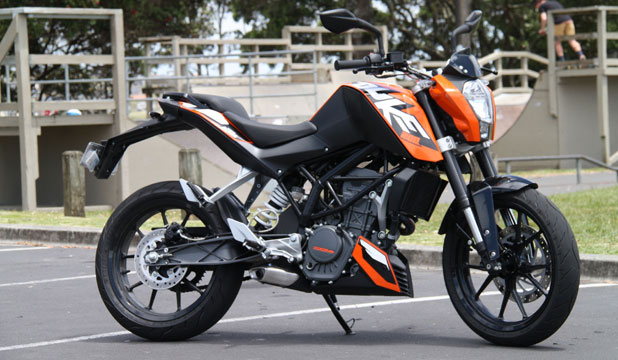 KTM Duke 200: Designed and engineered in Austria, built in India and then checked again in Austria for good measure.