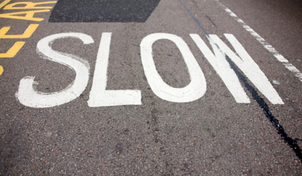 TAKING IT SLOW: Going slowly gives you more time to learn from your mistakes.
