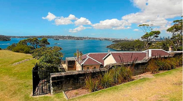 MILITARY HERITAGE: The old embattlements on Middle Head overlook Sydney's sparkling harbour.