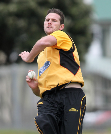 PURE PACE: The Firebirds' fiery recruit Shaun Tait in action.