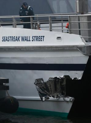 New York ferry crash