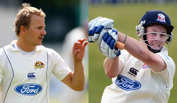 Neil Wagner and Colin Munro