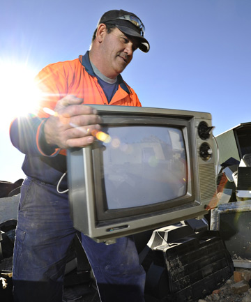 RELICS: Old TV's cost a bomb.