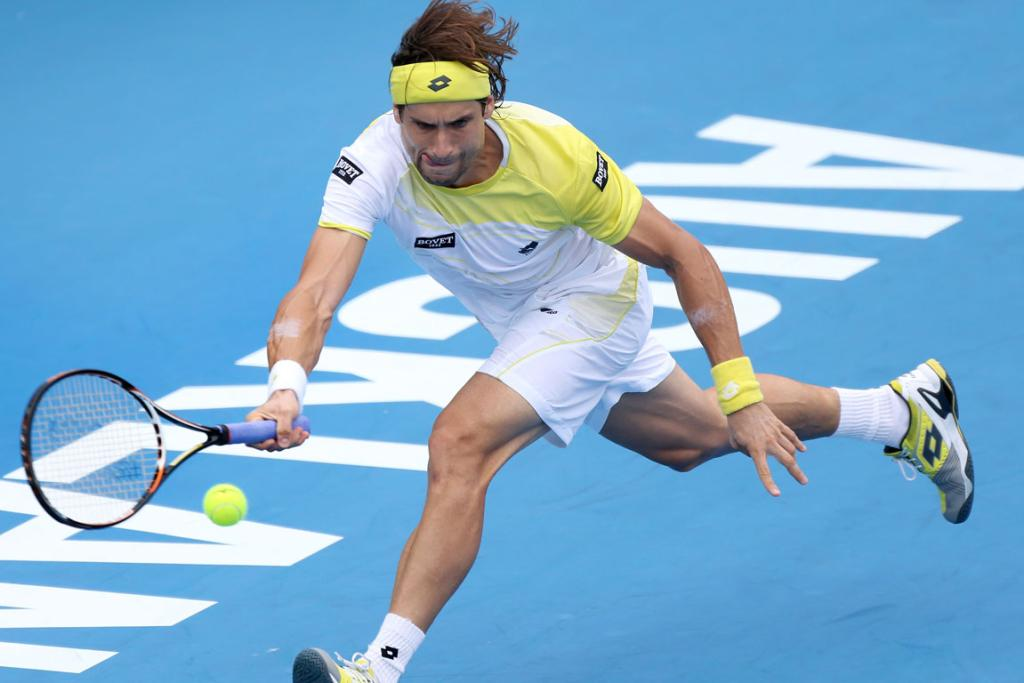David Ferrer beat Gael Monfils 6-1 6-2 in the second semi fianl of the Heineken Open.