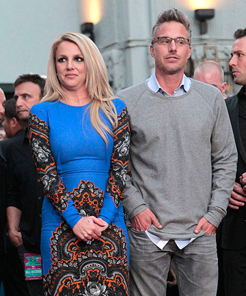 COUPLE NO MORE: Britney Spears and Jason Trawick are going separate ways.