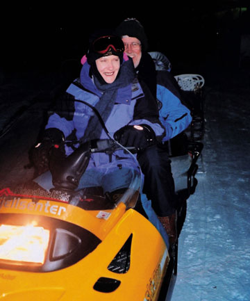 Former Prime Minister Helen Clark didn't like the beach so much - she preferred to spend her summer break cross country skiing in Norway.