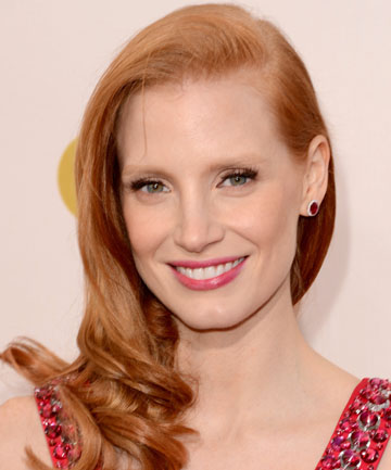 DRESSING FOR SUCCESS: Jessica Chastain loves the role play of dressing up.