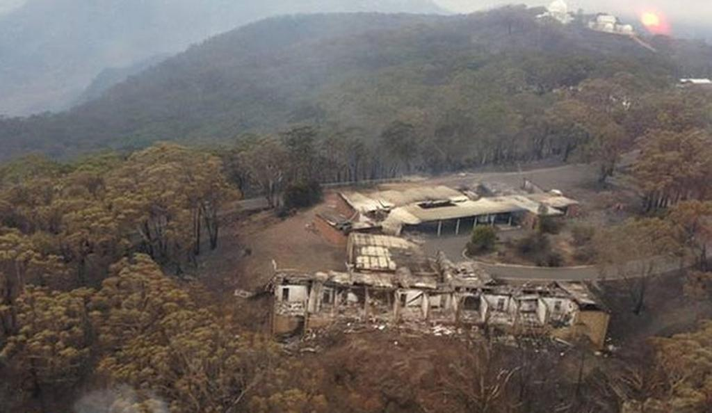 Several buildings at the Siding Spring Observatory were damaged.