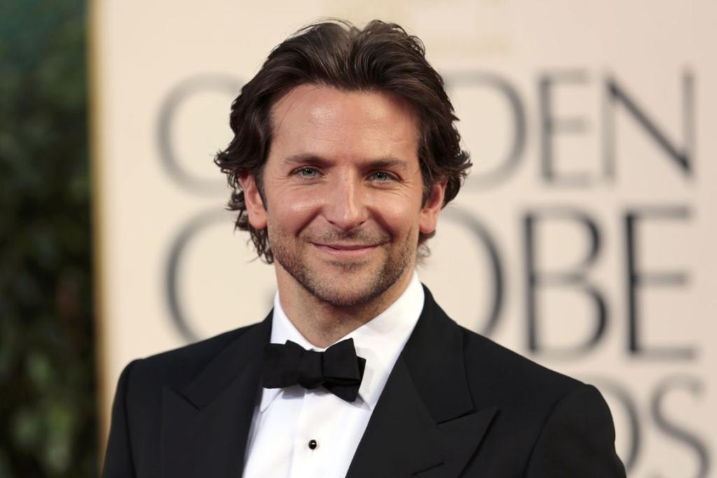 Actor Bradley Cooper of the film Silver Linings Playbook arrives.