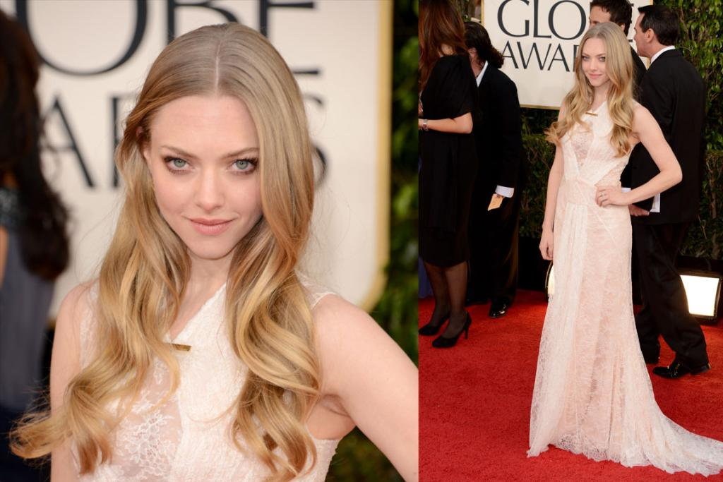 Amanda Seyfried wore Givenchy. Meh.
