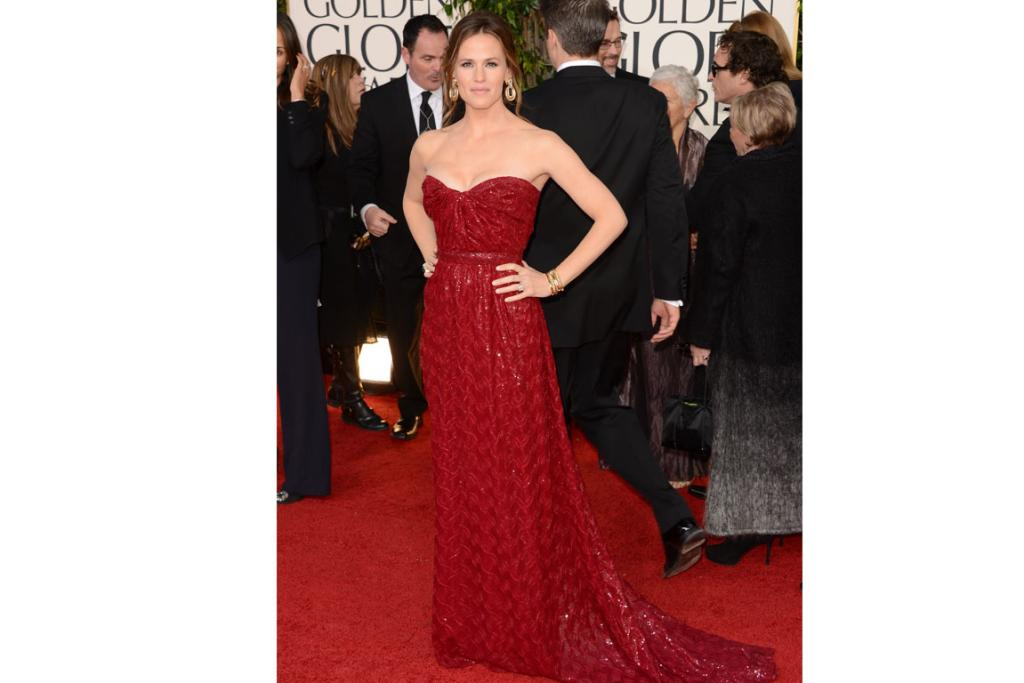 Jennifer Garner has a remarkable ability to make everything she touches look down-to-earth and simple, even a fully-embellished Vivienne Westwood couture gown.