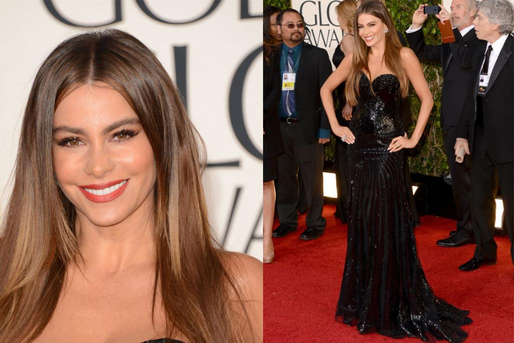 We're a little sick of Sofia Vergara relying on sequins, and fear her red carpet choices are becoming a touch heavy on the slamming-but-could-almost-be-an-Eighties-prom-dress side. Ruminating aside, she still looks fierce but we'd just love if she tackled a trend for once next time.