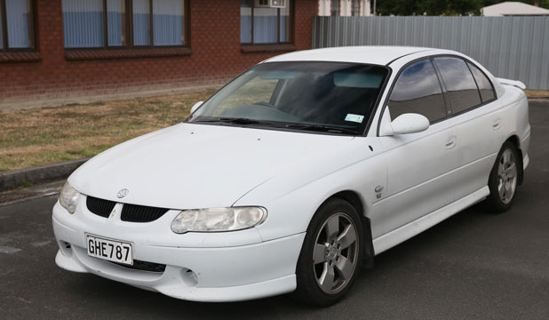 CONNECTED TO CRIME: Police are seeking sightings of this white Holden in relation to the death of Glen Jones.
