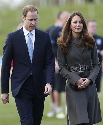 ROYALS EXPECTING: Prince William and his wife Kate have confirmed they are expecting a baby in July.
