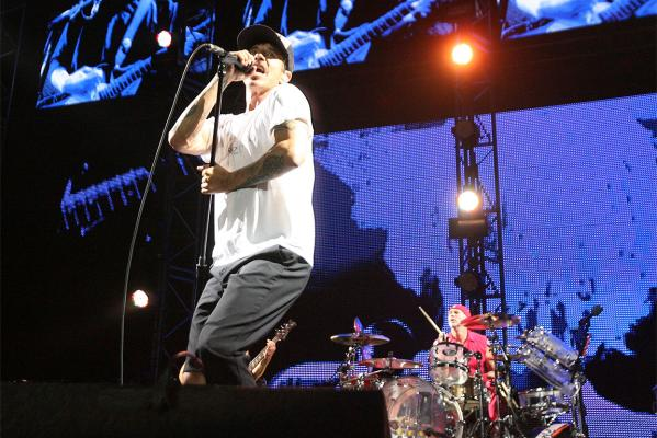 Red Hot Chili Peppers in Auckland
