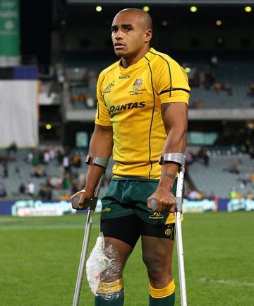 BLESSING IN DISGUISE: Will Genia says his injury has provided him with some much needed time off.