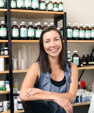 HOLISTIC APPROACH: Naturopath Annaliese Jones uses herbal medicine in conjunction with nutritional advice to offer support on such things as weight loss, anxiety and infertility.
