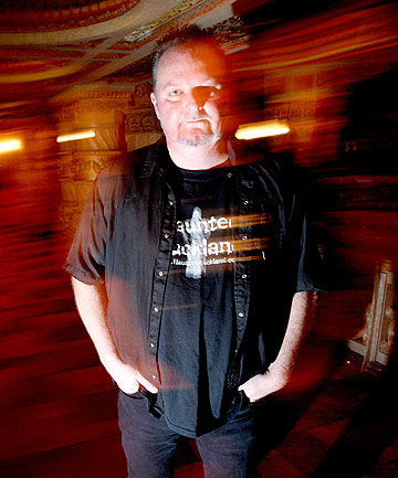 SEEING SPOOKS: Mark Wallbank is a paranormal activity investigator.