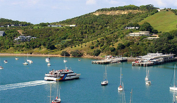 'STUNNING': Waiheke's scenery and artistic culture were praised by the New York Times write-up.