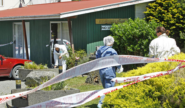 Featherston homicide