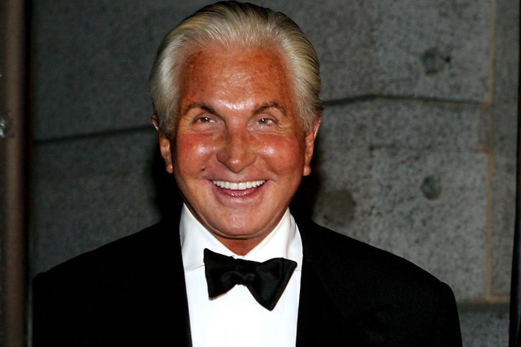 George Hamilton, 73, is known better for his skin the colour of rust than he is for his actual acting.