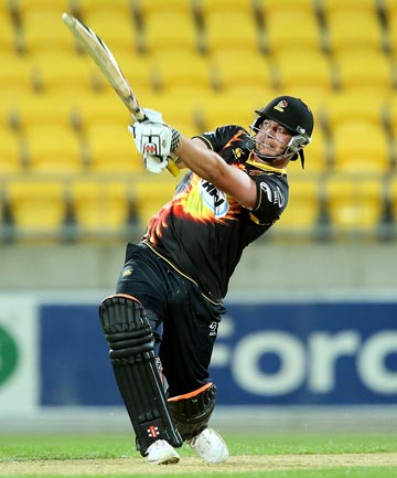 KING OF SWING: Jesse Ryder's hot form for the Wellington Firebirds should earn him a recall to the Black Caps.