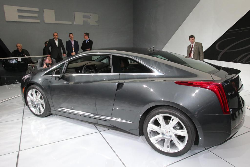 The Cadillac ELR was unveiled at the 2013 Detroit motor show.