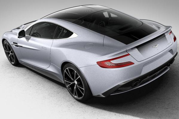 The Aston Martin Vanquish Centenary Edition.