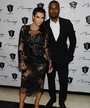 PARENTS TO BE: Kim Kardashian and Kanye West