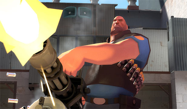TEAM FORTRESS 2: The critically-acclaimed first-person shooter has been transferred to Virtual Reality.
