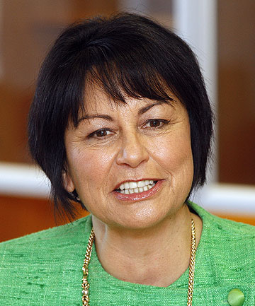PUBLIC FACE OF BLUNDERS: Education Minister Hekia Parata.