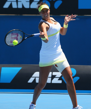FUTURE STAR: 17-year-old Madison Keys is destined for a grand slam win says Serena Williams.
