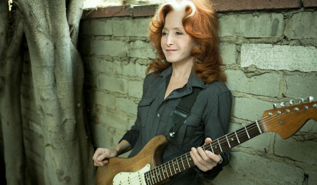 Bonnie Raitt has a new album out and is planning to tour New Zealand.